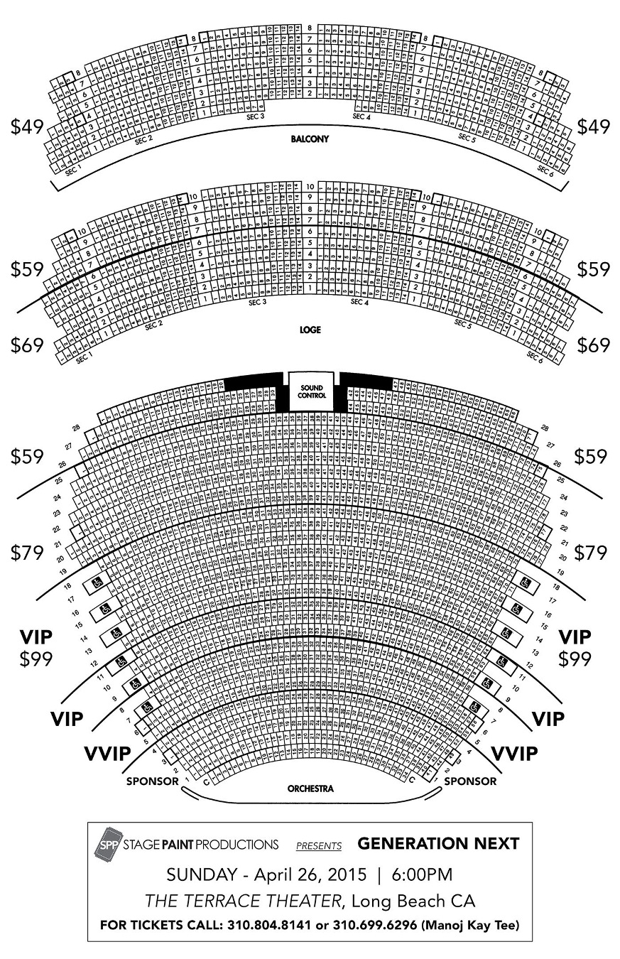 Click Here To View Seating Chart